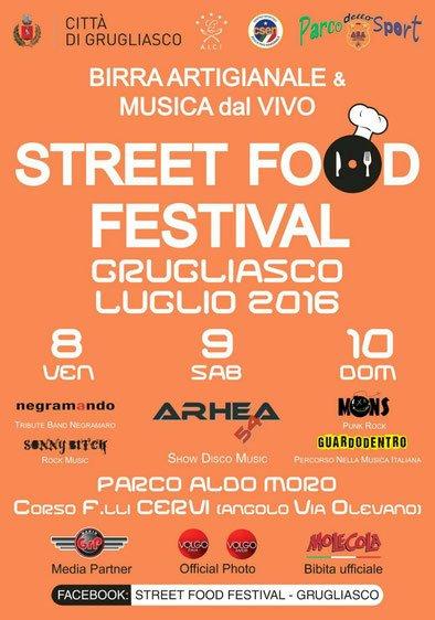 STREET FOOD FESTIVAL GRUGLIASCO